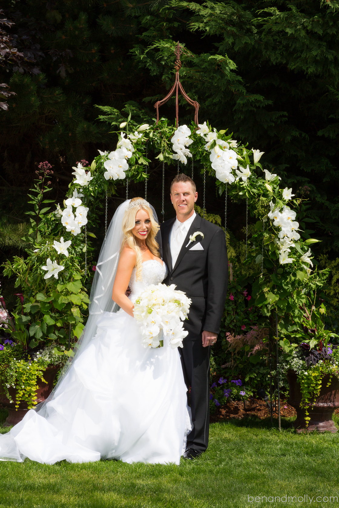 Paisley Petals Featured Wedding Brittany And Christopher